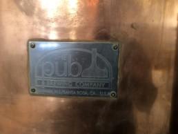 Brawling Bear Brewhouse NamePlate